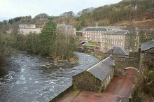 New Lanark, World Heritage Centre, South Lanarkshire © Elliott Simpson